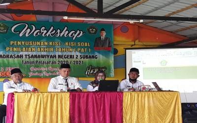 Workshop Penyusunan Kisi-Kisi Soal Penilaian Akhir Tahun (PAT)  Tahun Pelajaran 2020/2021