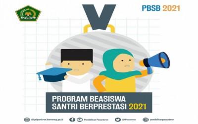 Pendaftaran Beasiswa Santri Berprestasi 2021 Dibuka Secara Online, Cek di Sini!