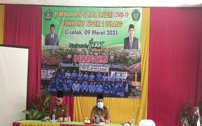 Pembinaan ASN di Masa Pandemi Covid-19 se-KKM MTsN 2 Subang